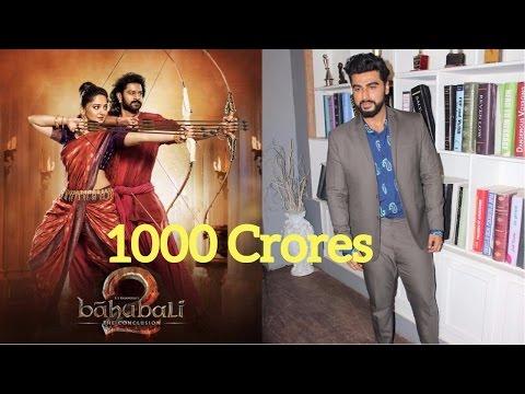 Arjun Kapoor On Bahubali 2 Collection | Battle Between Bahubali 2 vs Half Girlfriend