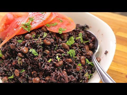 How To Cook Black Rice - Easy Plant Based Vegan Recipes