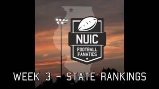 Week 3 | State Ranking Predictions + NUIC Power 5
