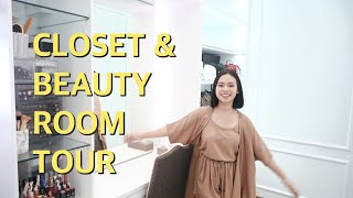 Video MY CLOSET & BEAUTY ROOM TOUR | ALL WHITE THEME MP3, 3GP, MP4, WEBM, AVI, FLV November 2018