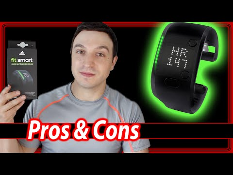Adidas FIT SMART Review - Pros & Cons Fitness Band
