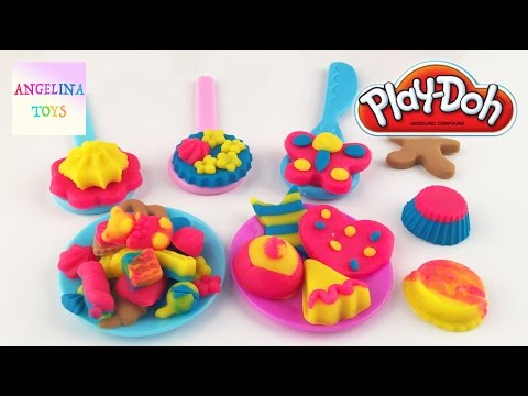 Play Doh Sweet Shoppe Candy Jar Girl Cooking Games Cake Candies NEW