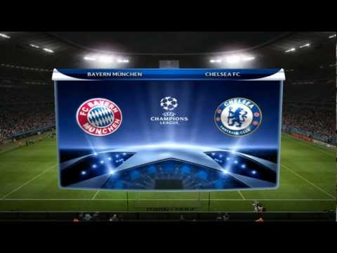 Champions League Final 2012 - Bayern München vs Chelsea FC [PES 2012 edit]