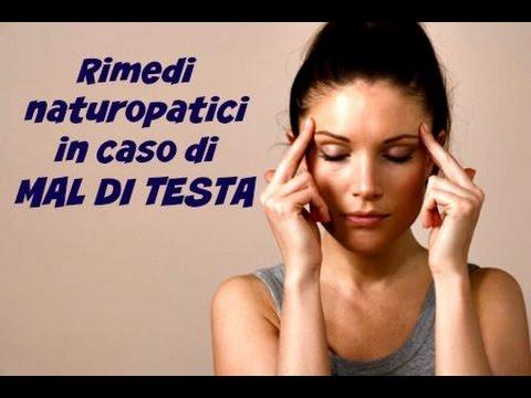 rimedi naturopatici contro il mal di testa!