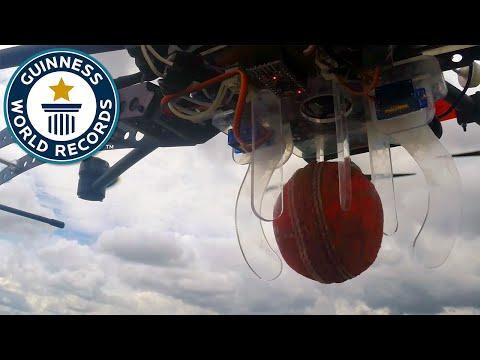 Highest Cricket Ball Catch - Guinness World Records