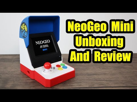 NEOGEO Mini Review And Unboxing Japanese Version