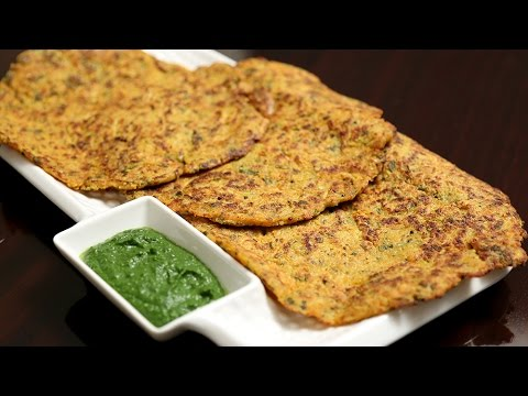 Oats Chila | Quick And Nutritious Recipe | Diet Recipe | Ruchi's Kitchen