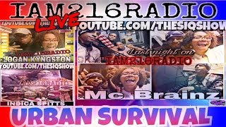 IAM216RADIO presents live on The SiQ Show, Urban Survival Entertainment with Co-Founder Dolla Bill straight from Kinsman ...