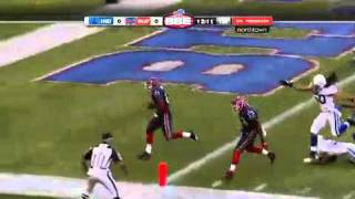CJ spiller's first ever rushing touchdown in the NFL pre-season vs the colts