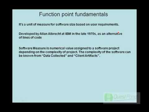 Introduction to Function Point Analysis (FPA)