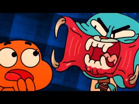 Gmod Scary AMAZING WORLD OF GUMBALL Mod (видео)