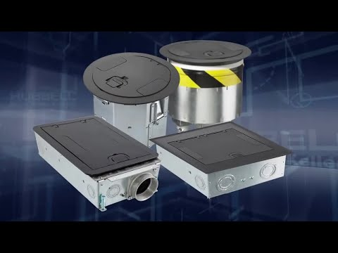 Hubbell System One Recessed Floor Boxes : hubbell wiring device selector - yogabreezes.com