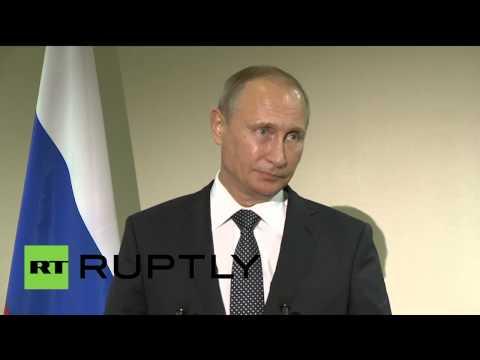 Пресс-блиц Путина после встречи с Обамой