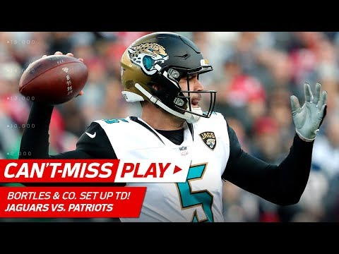 Video: Bortles, Fournette & Grant Lead Jags on TD Drive! | Can't-Miss Play | AFC Championship HLs