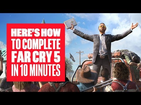 How to Complete Far Cry 5 in 10 Minutes de Far Cry 5