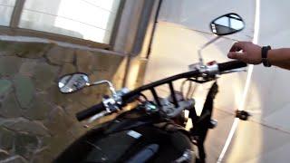 6. Debaffle Kawasaki Vulcan 1600 mean streak