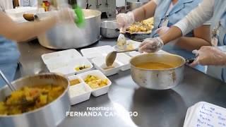 Santa Casa de Jaú serve marmitas com mensagens de carinho para pacientes internados