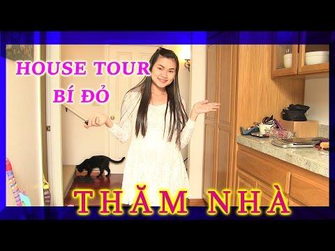 """""""HOUSE  TOUR """"- THĂM NHÀ CHỊ BÍ ĐỎ VÀ MÈO SEPPER - Thời lượng: 6:25."""