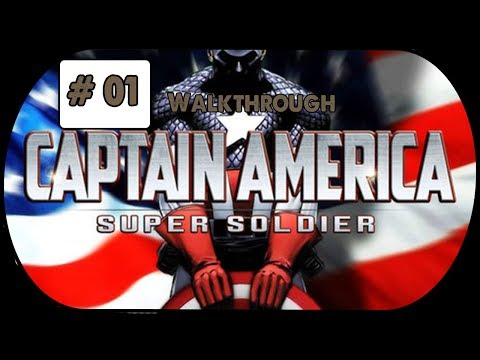 captain america super soldier wii walkthrough part 3