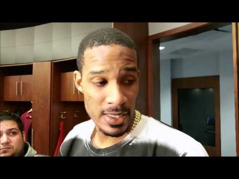 Trevor Ariza after Houston's home loss to Atlanta