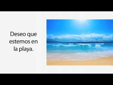 Learn Spanish 3.1 - When to Use the Subjunctive? W.E.I.R.D.O.! (part 2)