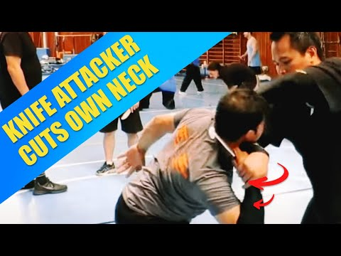 self cutting - For more information please visit www.SilatSuffian.net Short clip taken from the 4th of 5 days International Bruneian Martial Art - Silat Suffian Bela Diri Intensive Summer Camp in Desenzano...