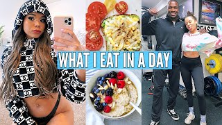 What I Eat In A Day (how i got abs) & Fitness Routine! | Krazyrayray by Krazyrayray