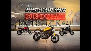 9. ESSENTIAL FAST FACTS ALL NEW 2018 DUCATI MONSTER 821