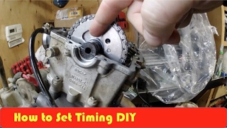 8. Arctic Cat 650H1 Camshaft and Timing Set Up DIY
