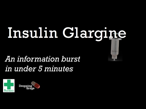 Insulin Glargine information burst