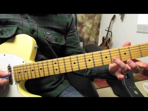 The Black Keys - Tighten Up - Electric Blues Rock Guitar Lesson Tutorial - How to Play Fender Tele