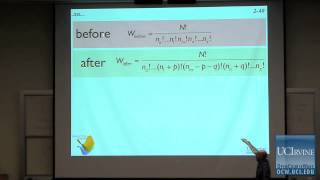Thermodynamics and Chemical Dynamics 131C. Lecture 02. The Boltzmann Distribution Law.