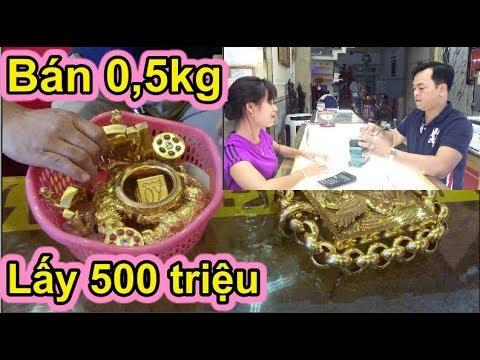 Phúc XO bưng cả Rổ Vàng ra bán 0,5 Kg để lấy 500 Triệu làm từ thiện giúp người nghèo - Thời lượng: 19 phút.