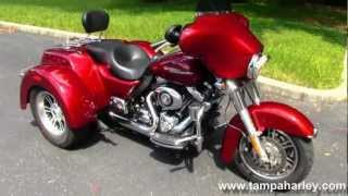 7. Used 2010 Harley-Davidson Motorcycle Trike Street Glide  For Sale Tama Reno Dallas