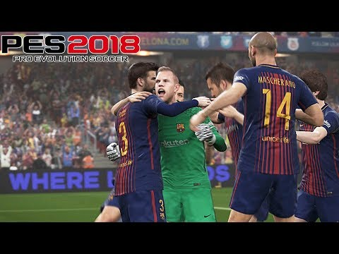 PES 2018 - Gameplay Compilation #2 | Goalkeepers