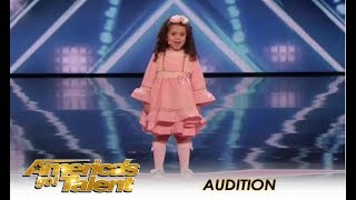 Video Sophie Fatu: The CUTEST 5-Year-Old Audition Ever! | America's Got Talent 2018 MP3, 3GP, MP4, WEBM, AVI, FLV Desember 2018