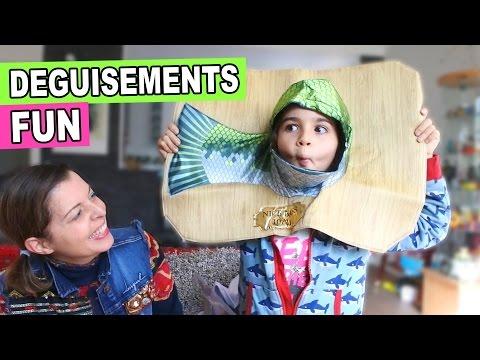 COLIS DÉGUISEMENTS spécial PÂQUES - On se déguise en poussin et LAPIN CRÉTIN - Mel & Alex