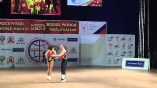 Olga Sbitneva & Ivan Youdin - World Masters Moskau 2013
