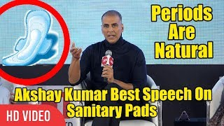 Video PADMAN Best Speech On Periods And Women's Problems | Akshay Kumar | MUST WATCH VIDEO MP3, 3GP, MP4, WEBM, AVI, FLV Januari 2018