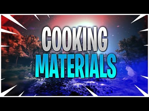 Guide To Cooking Materials | 2019 | Black Desert Online