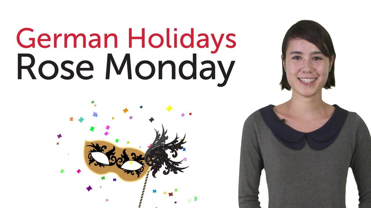 German Holidays – Rose Monday (Rosenmontag)