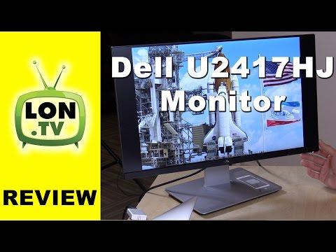 Dell Ultrasharp U2417HJ Monitor Review -  23.8