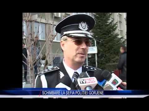 SCHIMBARE LA ȘEFIA POLIȚIEI GORJENE