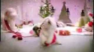 Dogs singing christmas song