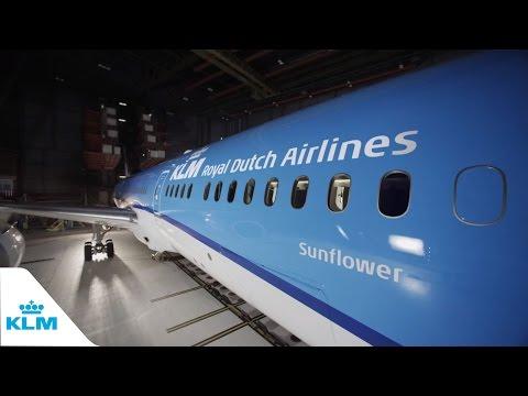 KLM показала распаковку нового Boeing 787-9 Dreamliner - Центр транспортных стратегий