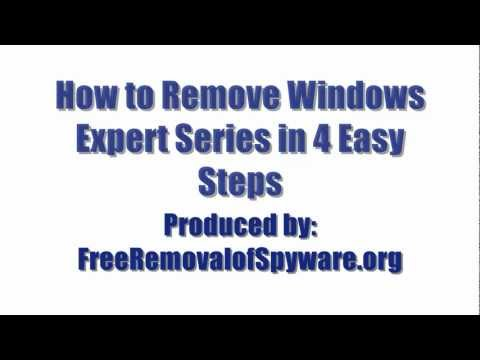 Watch 'Remove Windows Expert Series in 4 Easy Steps