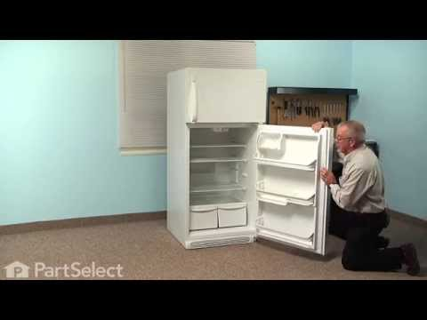 Refrigerator Repair - Replacing the Fresh Food Door Gasket (Frigidaire Part # 241872513)