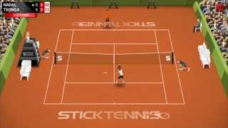 Stick Tennis YouTube video