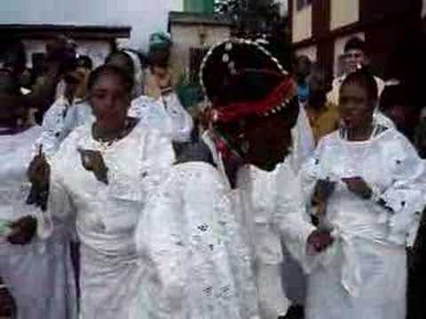 Chief Aikulola, Odun Obatala (Festival of Obatala)