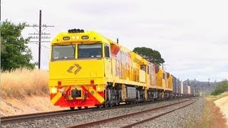 Ararat Australia  city pictures gallery : Australian Trains : Freight and Passenger trains around Ararat. Sat 17/11/12